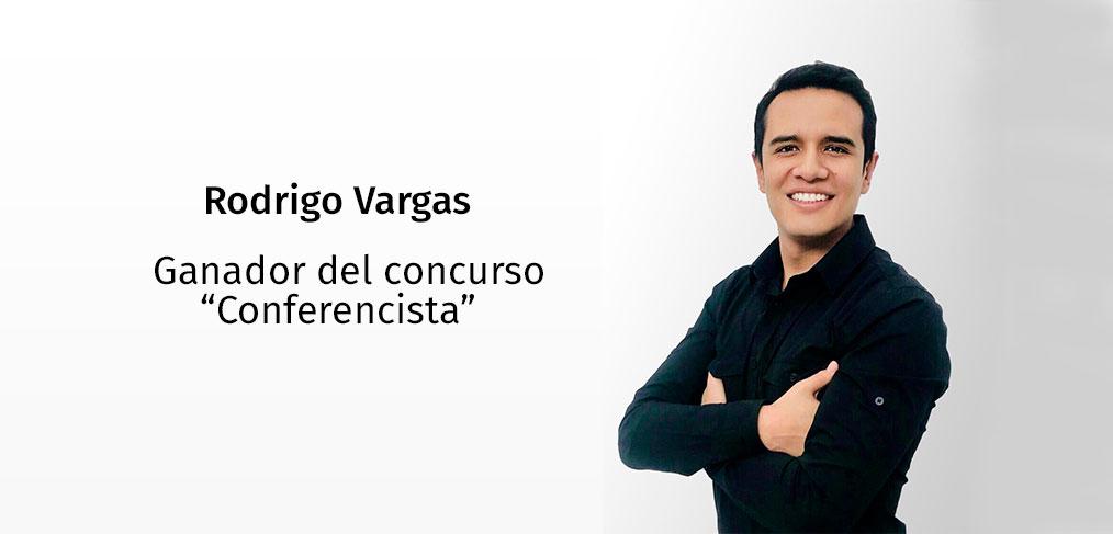 Conferencista Rodrigo Vargas
